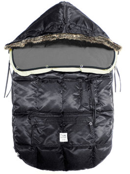7 A.M. Enfant Le Sac Igloo Bunting - Black - 1 ct.
