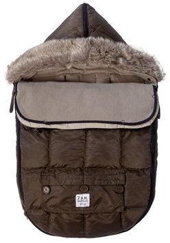 7 A.M. Enfant Le Sac Igloo Bunting - Cafe - 1 ct.