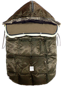 7 A.M. Enfant Le Sac Igloo Footmuff - Cafe - 1 ct.