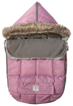 7 A.M. Enfant Le Sac Igloo Baby Bunting Large In Pink