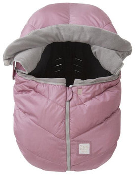 7 Am 7 A.M. Car Seat Cocoon In Metallic Lilac