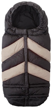 7 A.M. Enfant Blanket 212 Chevron Footmuff - Black/Beige - 1 ct.