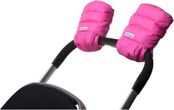 7 Am 7 A.M. Enfant Handmuffs Warmmuffs Fleece Lined In Neon Pink