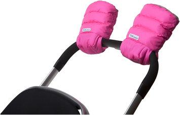 7 Am 7 A.M. Enfant Handmuffs Warmmuffs Fleece Lined In Neon Pink