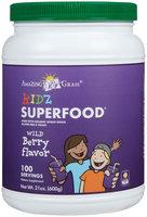 Amazing Grass Kidz SuperFood Drink Powder Wild Berry - 21 oz - Vegan