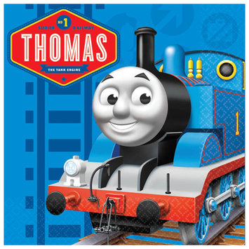 Thomas The Tank Party Beverage Napkins Pkg/16
