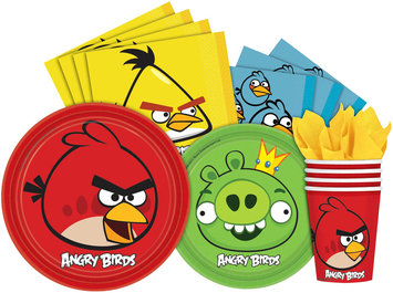 Angry Birds Beverage Napkins (16-pack)