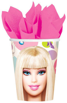 Amscan Barbie 9 oz Cups - 8 ct