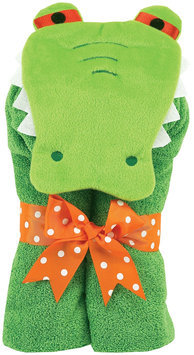 Am Pm Kids Alligator Tubby Towel Size: 23