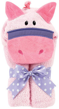 Am Pm Kids Pony Tubby Towel Color: Pink