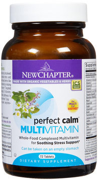 New Chapter Perfect Calm, Stress Support Multi Tabs