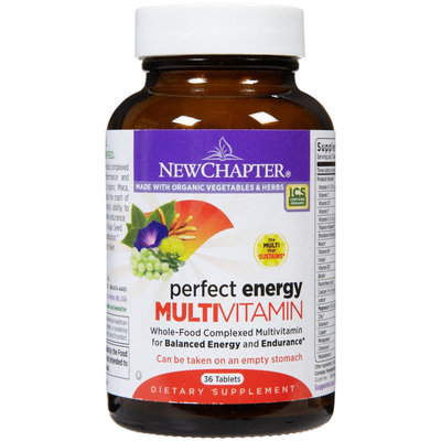 New Chapter Perfect Energy, Balance Energy & Endurance Tabs