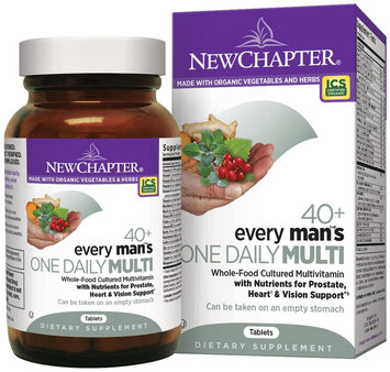 New Chapter Every Man's One Daily 40 Plus Multivitamin 24 Tablets