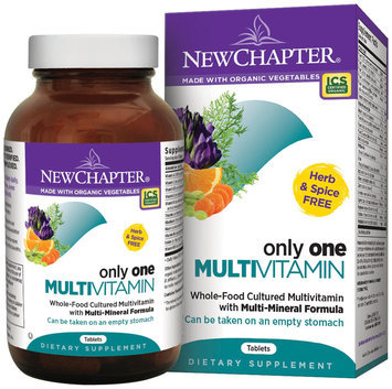 New Chapter Organics New Chapter Only One Multivitamin - 72 Tablets
