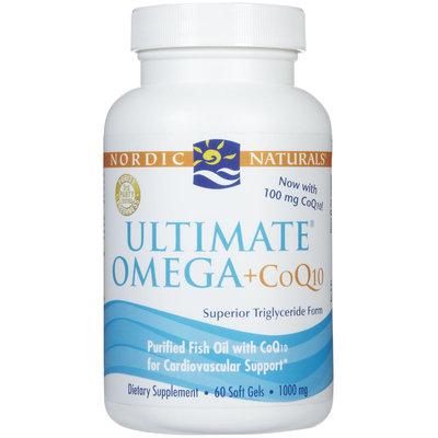 Nordic Naturals Ultimate Omega + CoQ10 Softgels