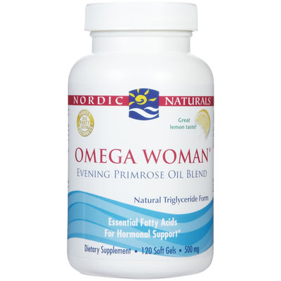 Nordic Naturals Omega Woman w/ Primrose Softgels, Lemon