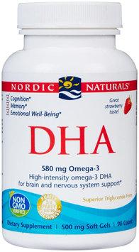 Nordic Naturals DHA - 500 mg - 90 Softgels