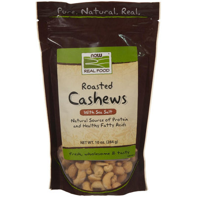 NOW Foods Roasted & Salted Cashews