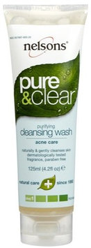 Nelson Bach USA Pure & Clear Cleansing Wash