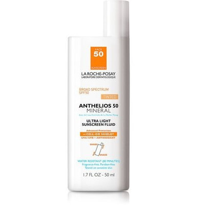 La Roche-Posay Anthelios Mineral SPF 50 Tinted Sunscreen