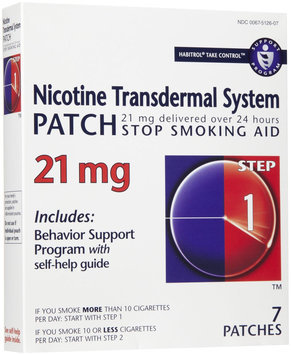 Habitrol Smoking Cessation Patches Step 1 / 21mg