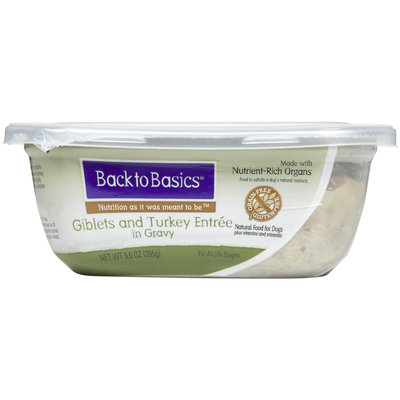 Back to Basics Grain-Free Giblets & Turkey Entree - 8x9 oz