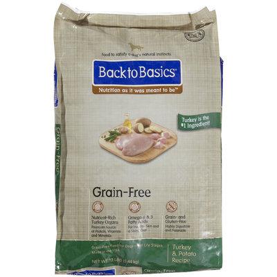 Back to Basics Grain-Free Turkey & Potato - 24lb