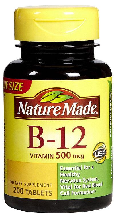 Nature Made Vitamin B12 500 mcg Tabs