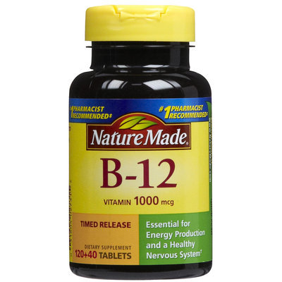 Nature Made Vitamin B-12 1000 mcg Tablets - 200 Count