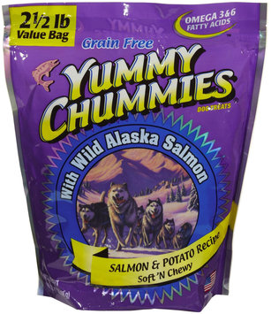 Yummy Chummies Grain Free Potato & Salmon Soft n' Chewy