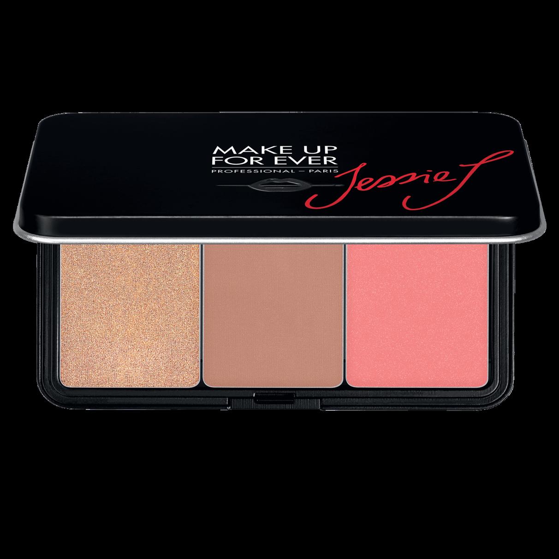 MAKE UP FOR EVER Artist Face Color (Jessie J) Limited Edition Trio Palette