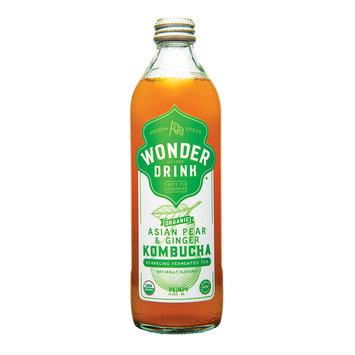 Kombucha Wonder Drink Bottled Asian Pear & Ginger
