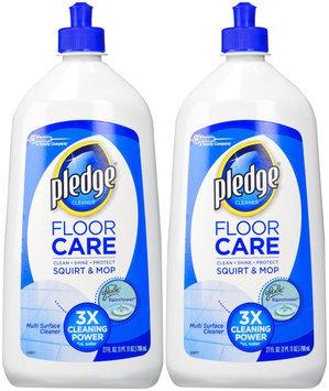 Pledge Floor Polish 27 oz. Citrus Scent Multi-Surface Floor Cleaner (6-Pack) 22220