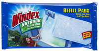 Windex Cleaning Products Outdoor All-In-One Glass Cleaning Tool Refill Pads (9-Pack) 70118