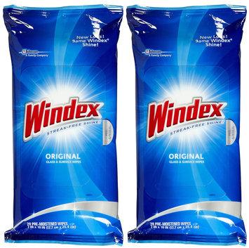 Windex Original Glass Cleaner Wipes 28-Wipes (12-Pack) 70232