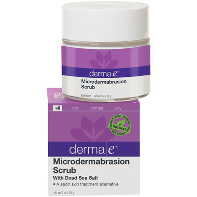 derma e Microdermabrasion Scrub with Dead Sea Salt