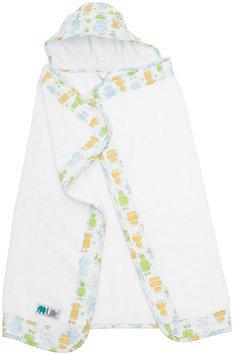 Bebe Au Lait Hooded Towel - Robots