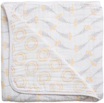 Bebe Au Lait Muslin Snuggle Blanket- Wild Flower & Halo