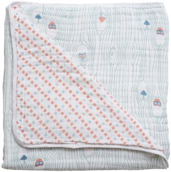 Bebe Au Lait Muslin Snuggle Blanket- Little Owl & Tinsley