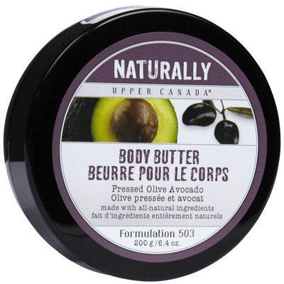 Upper Canada Soap Naturally Body Butter, Olive Avocado-6.4 oz