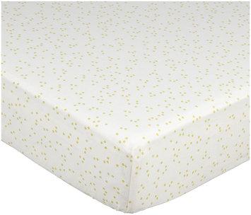 Auggie Crib Sheet - Pebble/Fern - 1 ct.