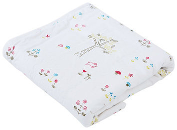 Auggie Everyday Blanket- Rabbit Patch - 1 ct.