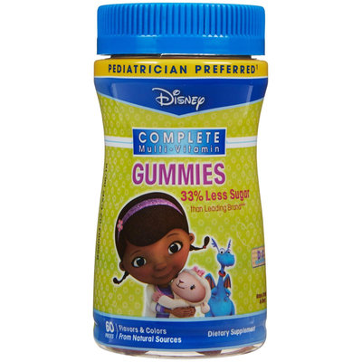Disney Doc McStuffins Complete Multi-Vitamin Gummies, 60 count