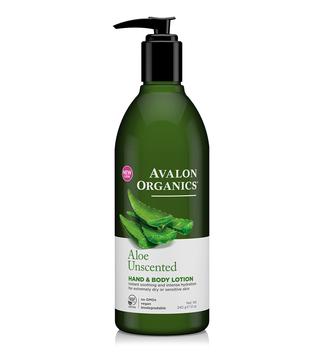 AVALON ORGANICS® Unscented Aloe Hand & Body Lotion