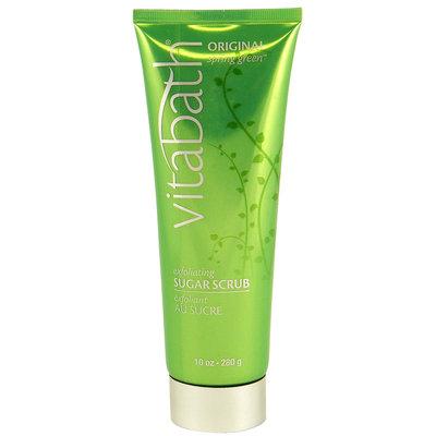 VitaBath Original Spring Green Exfoliating Sugar Scrub 10 oz