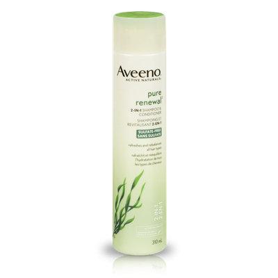 Aveeno® Active Naturals Pure Renewal Sulfate-Free 2-in-1 Shampoo & Conditioner