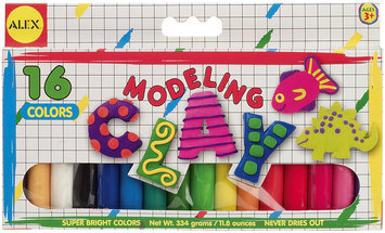 ALEX TOYS MODELING CLAY - 16 PACK