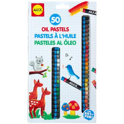 Alex Art 50 Oil Pastels
