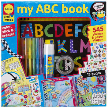 Alex Little Hands My Abc Book