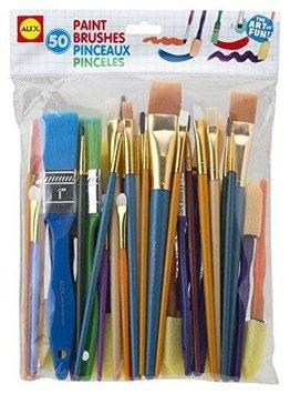 Alex 50 Paint Brushes - 1 ct.